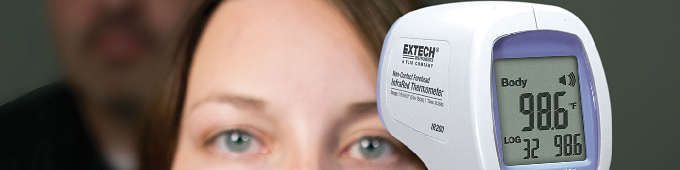 Digital Forehead Thermometers