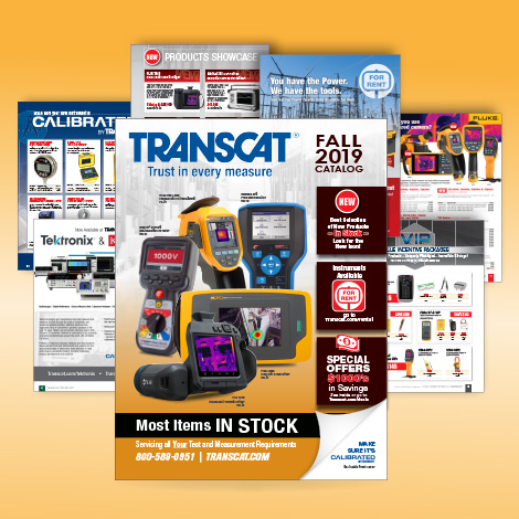 Sign up to Receive Product Catalogs from Transcat