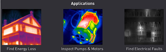 Figure 1: Applications for Infrared technology